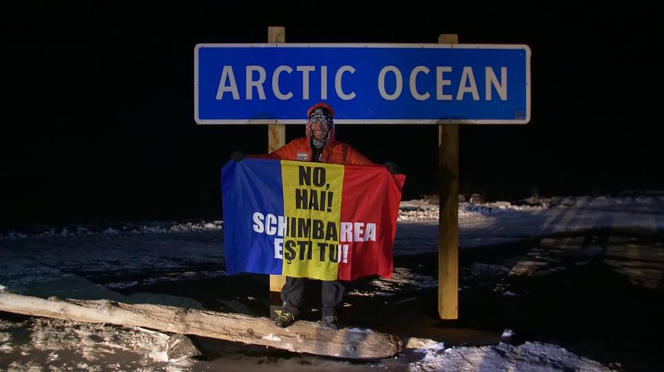 Romanian librarian/endurance athlete finishes third at 6633 Arctic Ultra