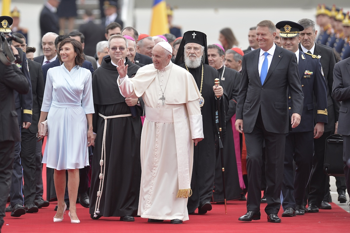 Pope Francis Starts Historic Visit In Romania: I