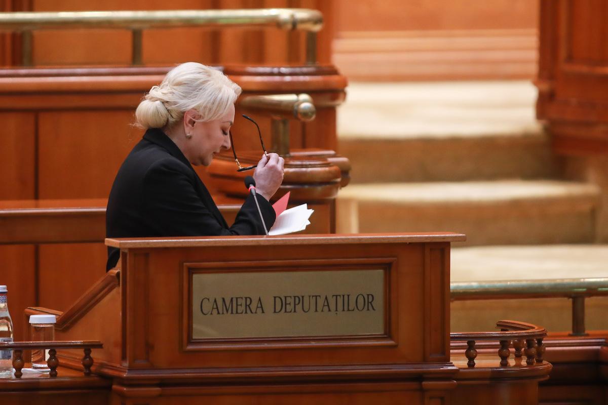Romania's Parliament votes out Dancila cabinet