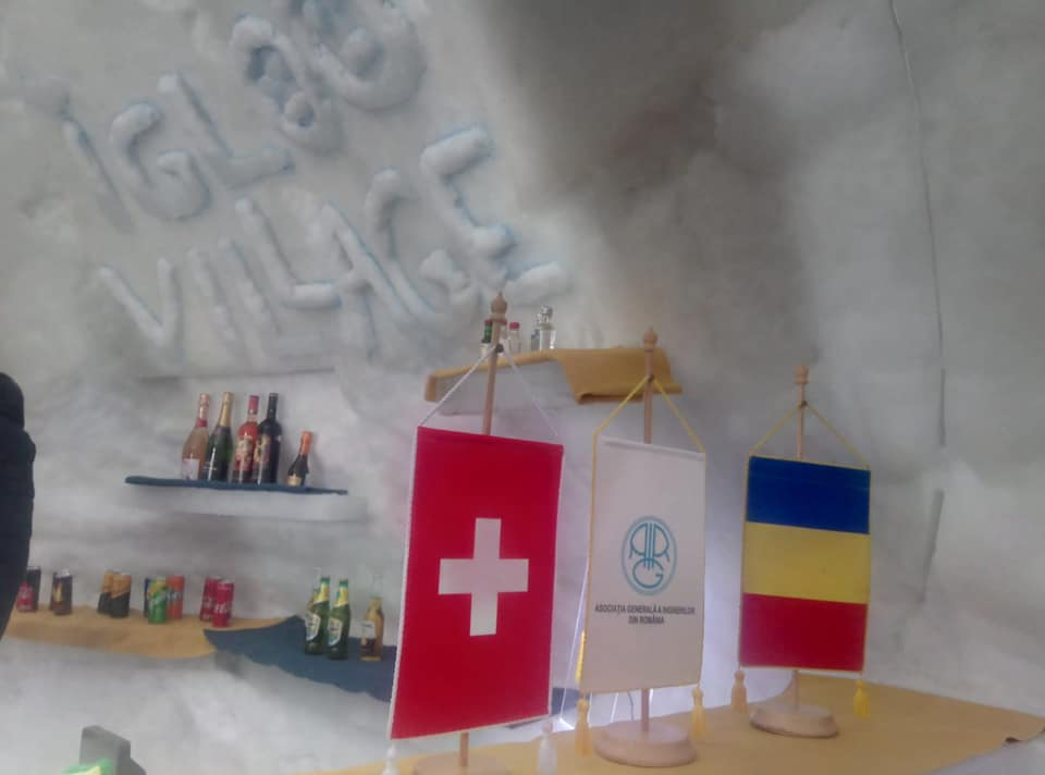 Igloo village replacing ice hotel opens in central Romania