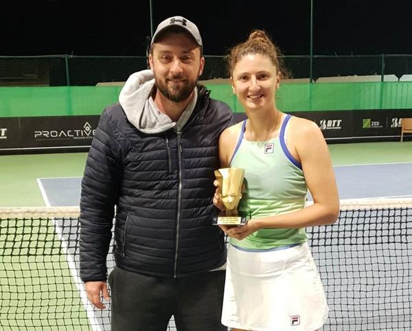Romanian tennis player Irina Begu returns to WTA Top 100 after winning ITF Cairo final