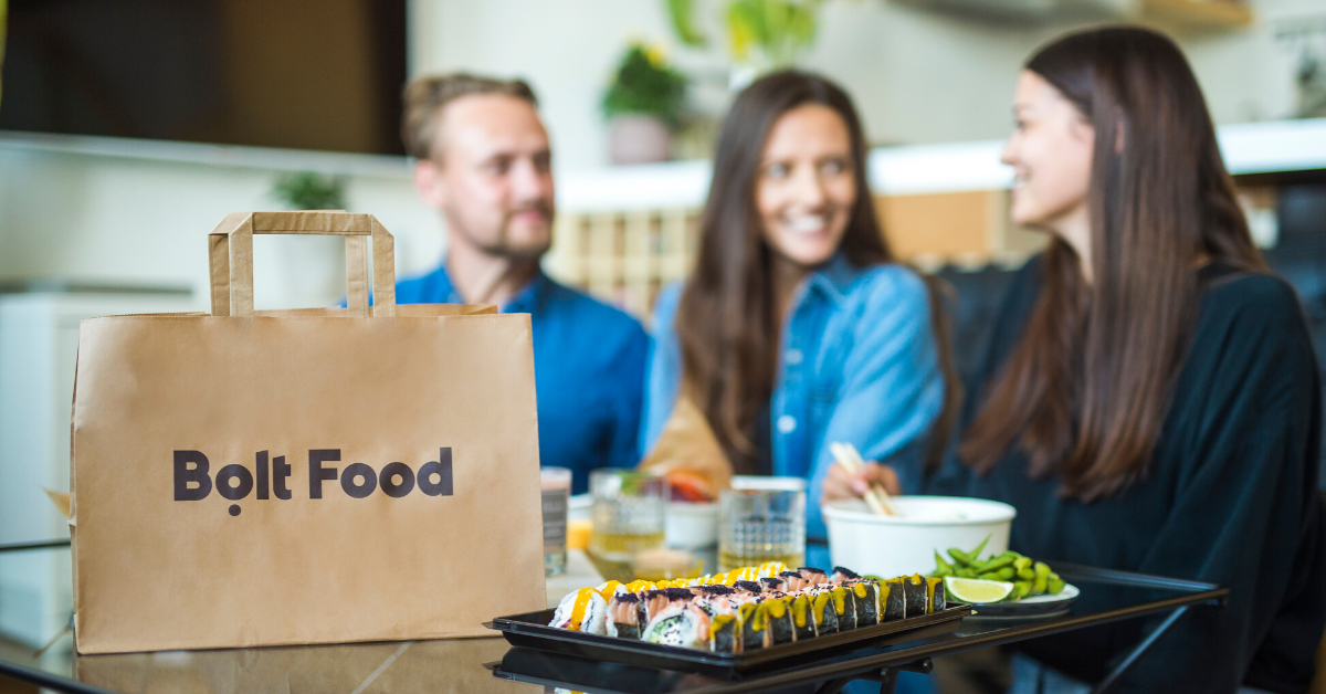 Bolt launches food delivery service in Bucharest