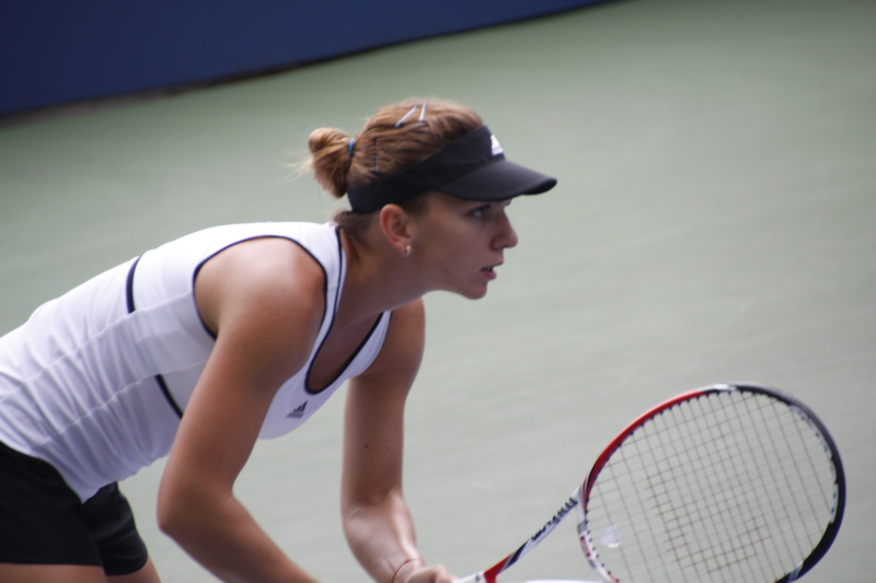 "Romanian tennis star Simona Halep on Forbes' ""30 under 30 in Europe"" list"