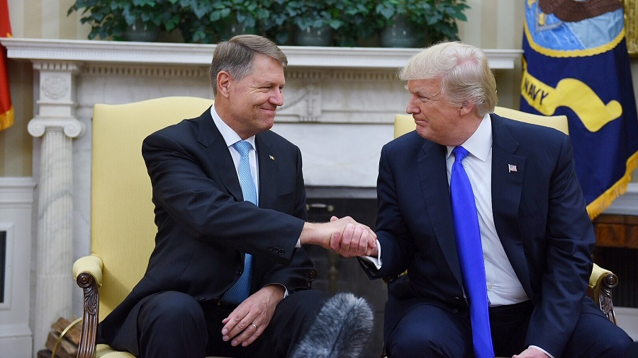 Romanian president meets Donald Trump this month, military cooperation and energy security on the agenda