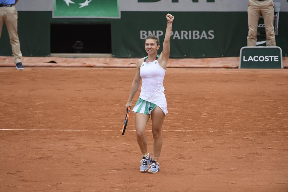 7147a6312 Romanian tennis ace Simona Halep reaches Roland Garros quarterfinals ...