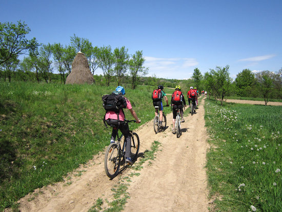 Cycling in Maramures