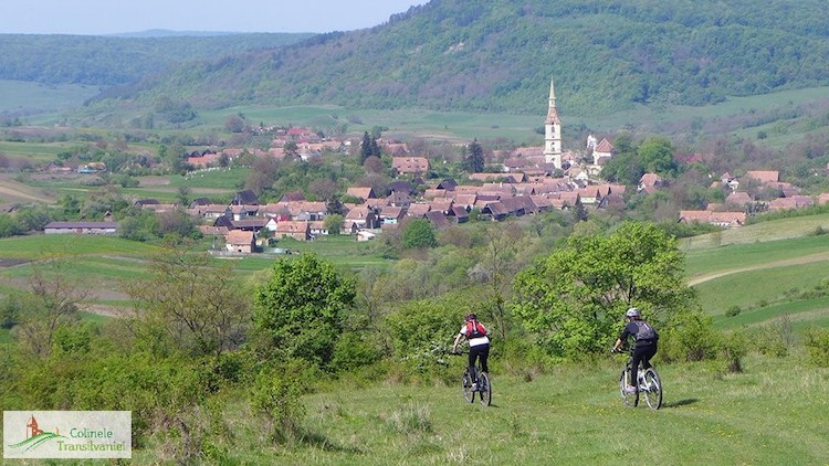 Cycling through the hills of Transylvania