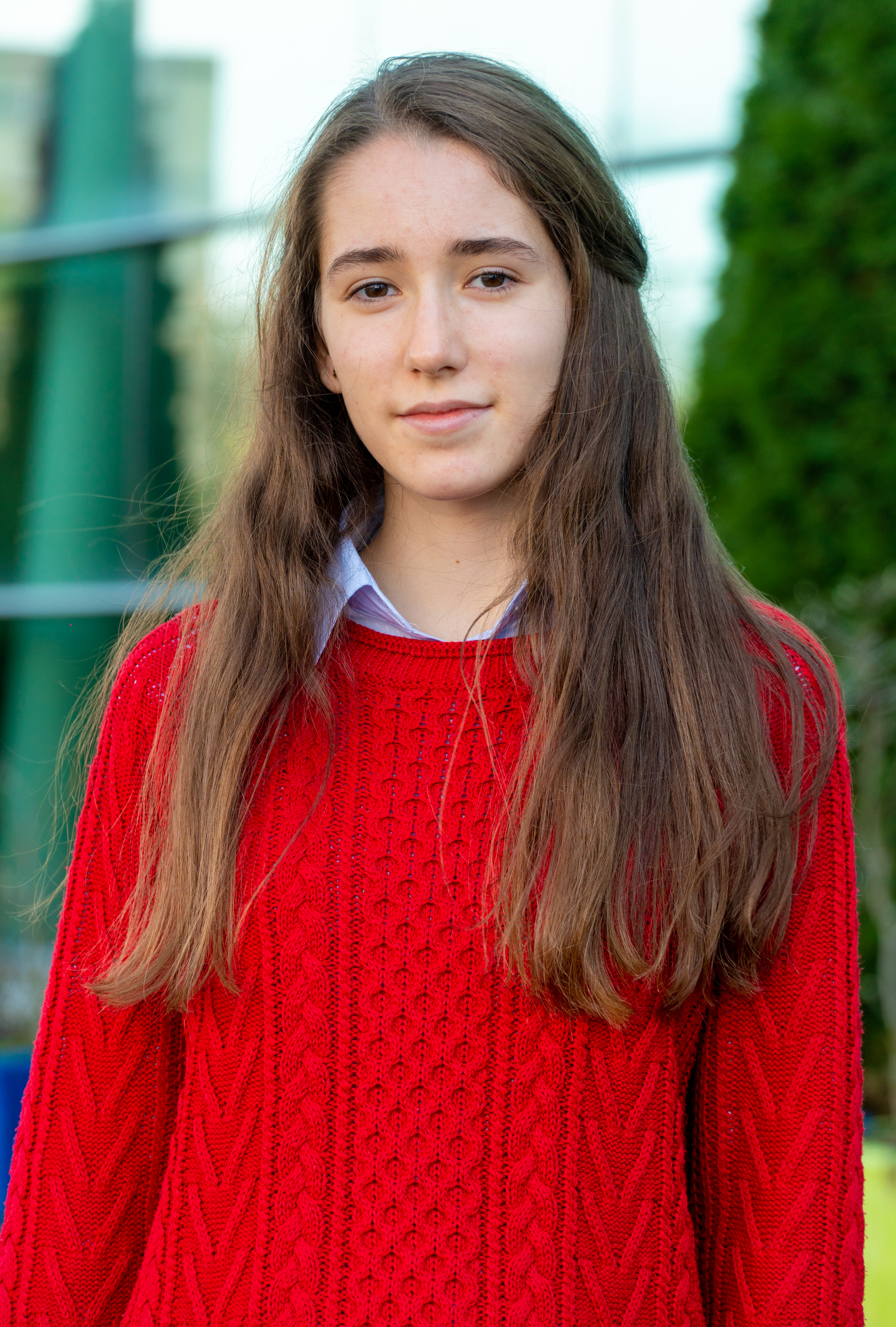 Andra A. Year 12 student, first year of International Baccalaureate Diploma Programme