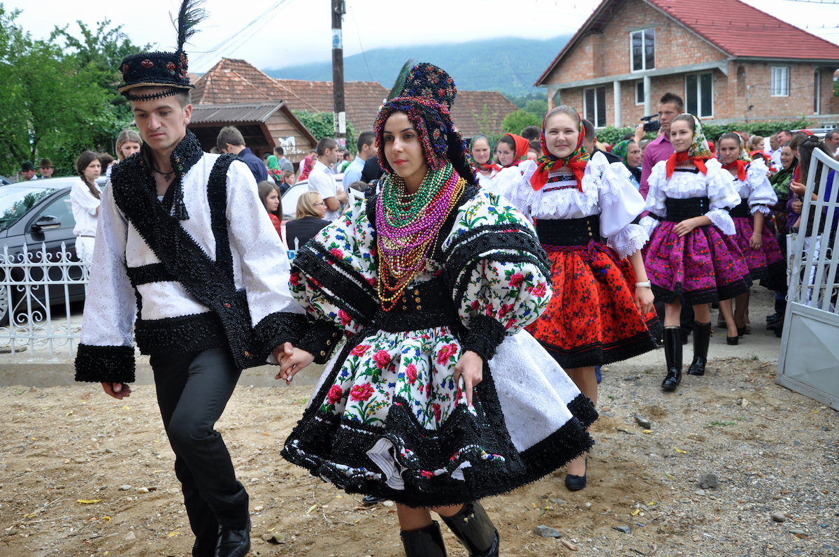 A traditional wedding in the Romanian region of Maramures (Shutterstock.com)