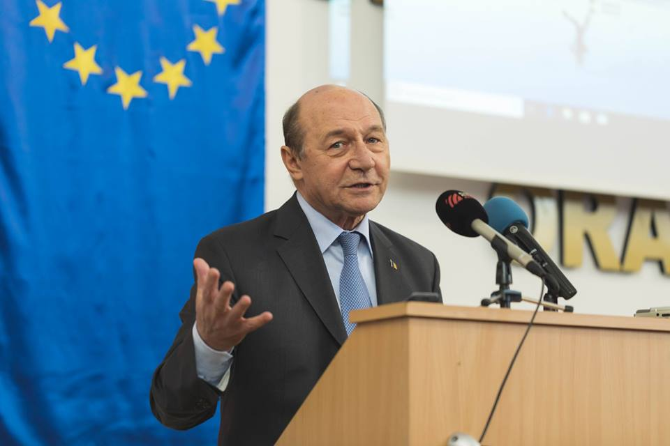 Romania's former president Basescu claims he worked only for counterintelligence