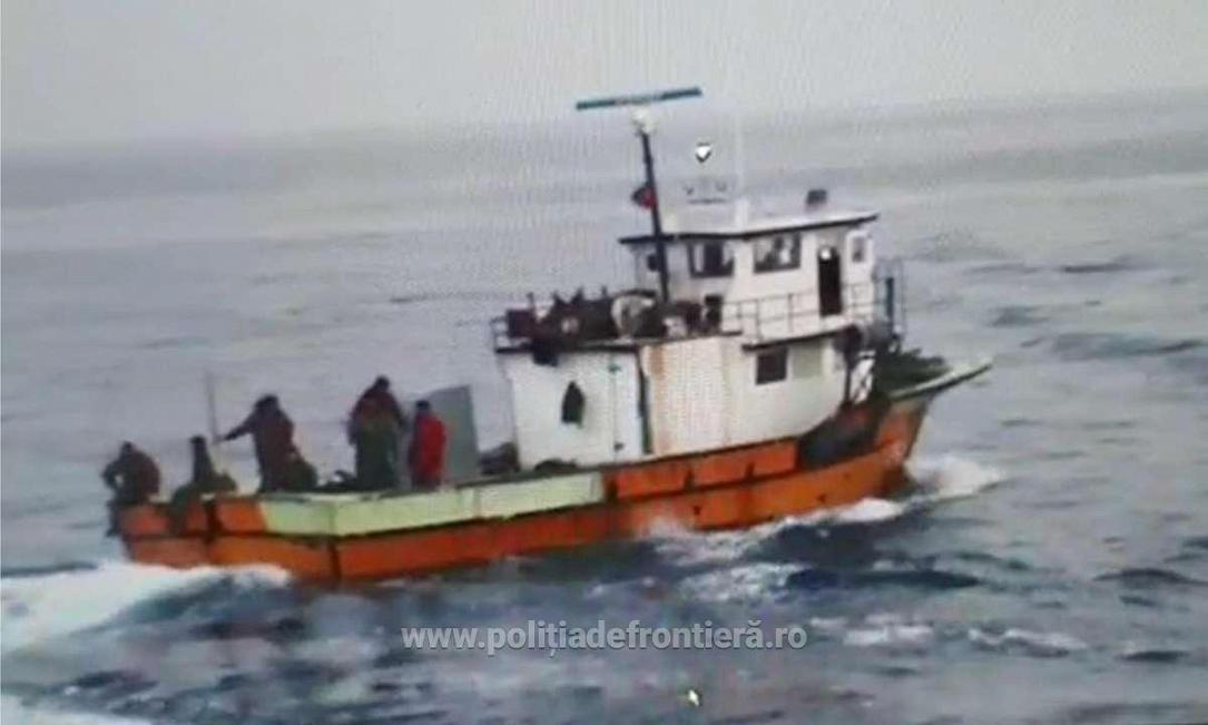 Romanian coast guard opens fire on Turkish fishing boat