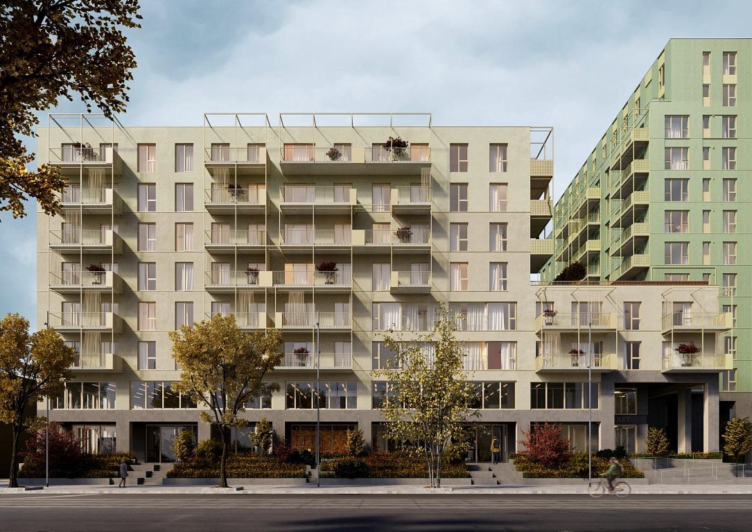 Romanian real estate developer gets permit for 464-apartment