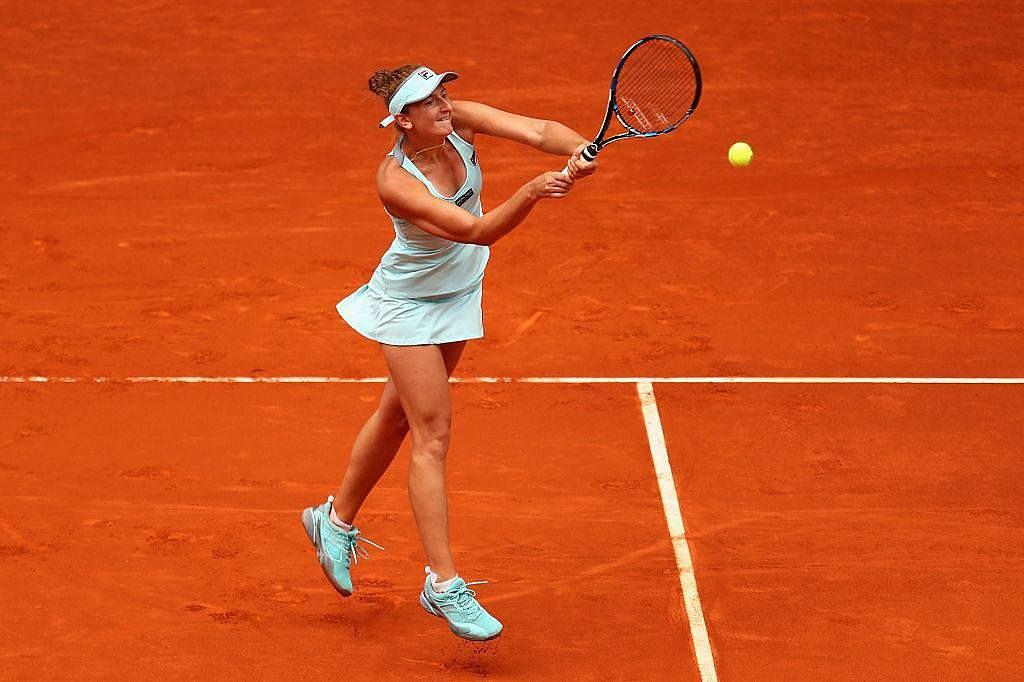 Irina Begu | Sony Ericsson Open 3/22/2012 Women's Doubles ...  |Irina Begu