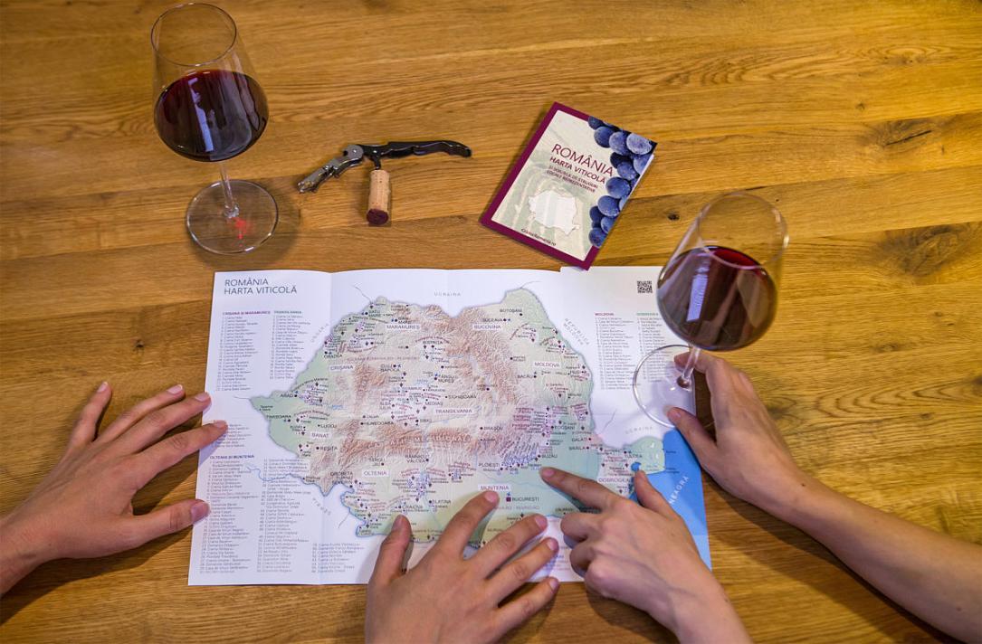 Romania Wine Map Available In English Romania Insider