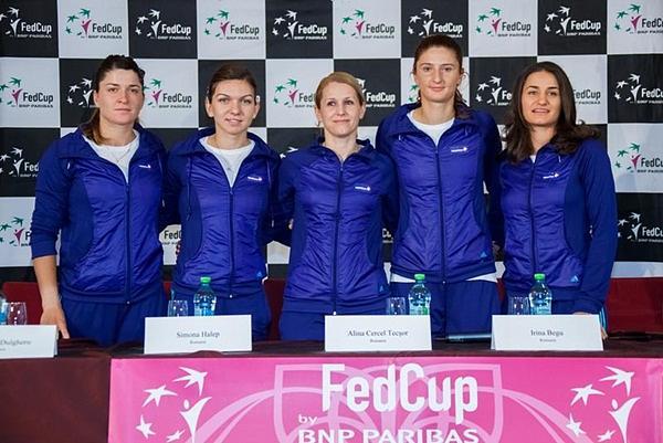 Romanias Fed Cup Team