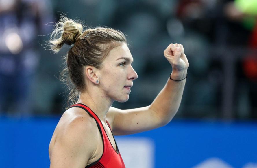 French Open 2018: Simona Halep battles back, defeats ...  |Simona Halep