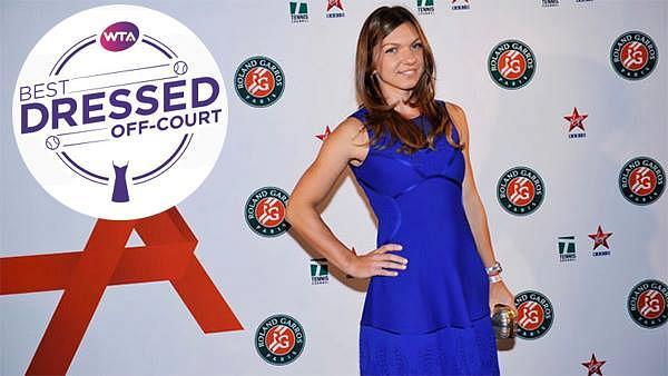f0b5149ec WTA fans decide  Romanian star Simona Halep is the most elegant ...