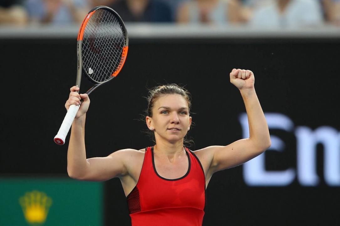 Australian Open: Simona Halep and Alexander Zverev Survive ...  |Simona Halep