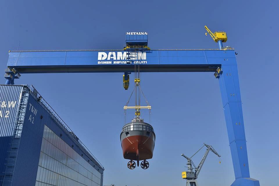 Damen Galati shipyard pays EUR 4 2 mln dividends to Dutch