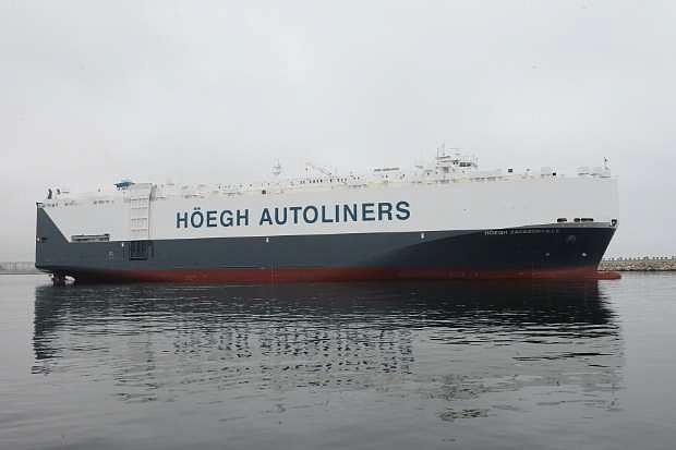 Romanian shipyard Daewoo Mangalia builds largest auto