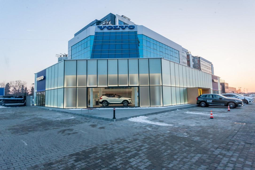 Biggest Volvo Dealer In Romania Opens Eur 1 Mln Showroom Romania