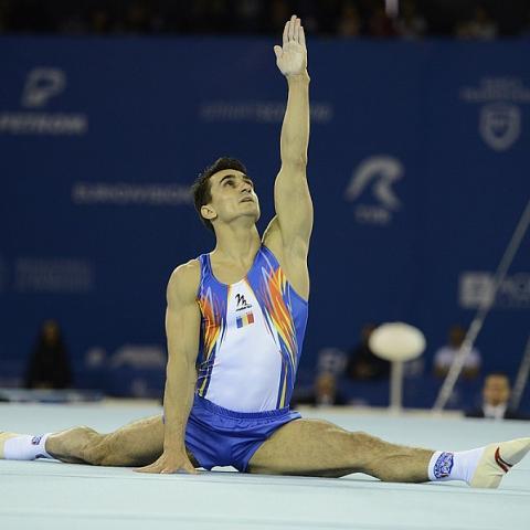 European Gymnastics Championships Romanian Wins Gold In