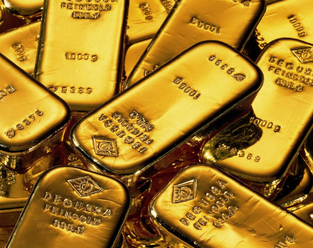 gold deutsche bank 1024x813 Venezuela repatriates gold to give back the countrys Body and soul