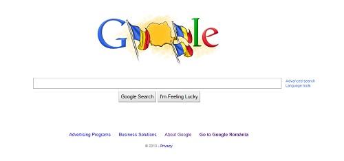 Google displays Romanian national day special logo ...