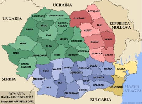 Romanian President Wants Eight Big Counties Instead Of 41 To