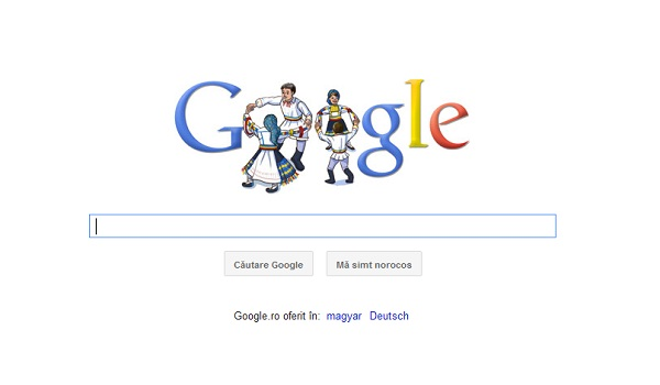 Google displays special logo to celebrate Romania's ...