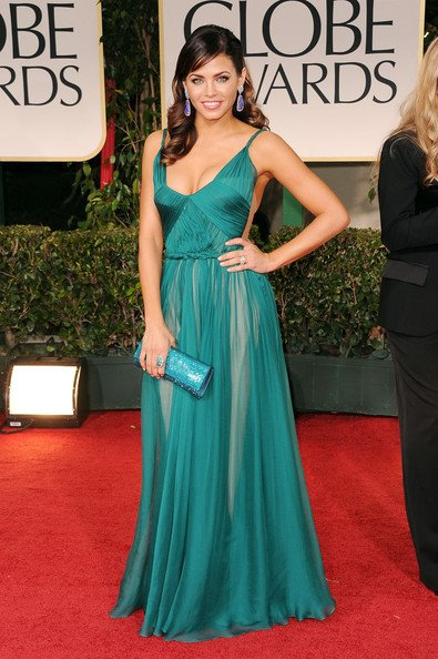 Romanian Designer Dress Makes It To The Golden Globes Red