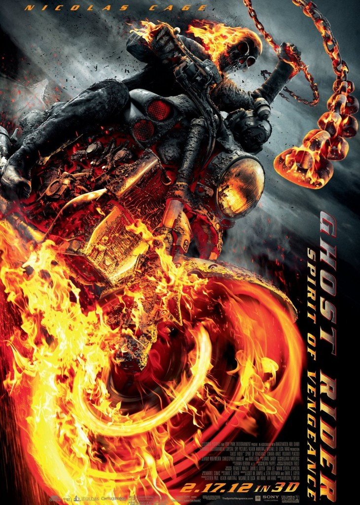 Movie openings this weekend in Romania: Ghost Rider - The