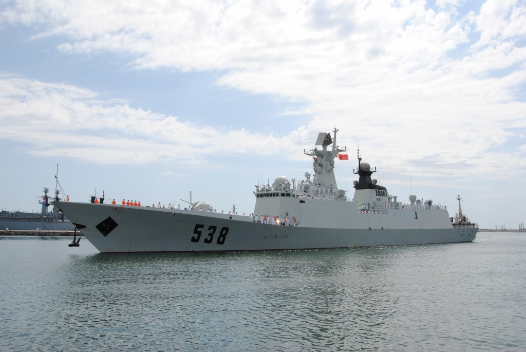 yantai navyro First Chinese frigate in the Black Sea attracts tourists in the Romanian port of Constanta