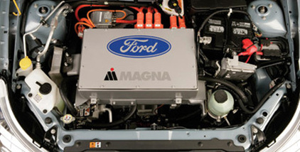 Canadian Company Magna, A Producer Of Exterior And Interior Car Parts,  Which Has Contracts With Car Maker Ford, Will Inaugurate Its Factory At  Craiova, ...