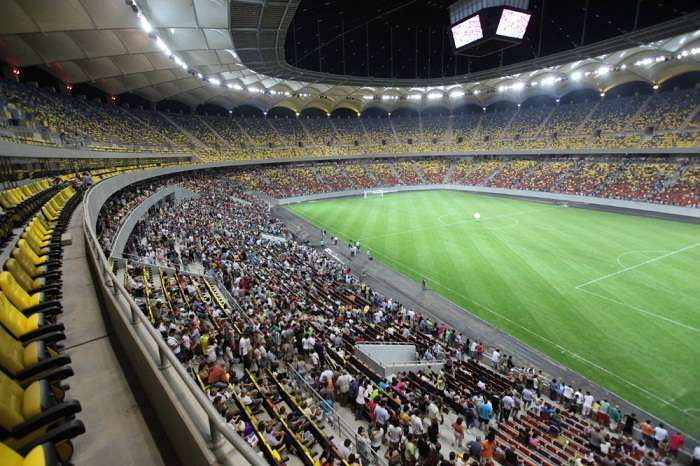 Bucharest S National Arena Reopens After Almost Five