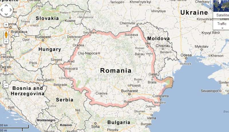 Cadaster update brings slight increase in Romania's area