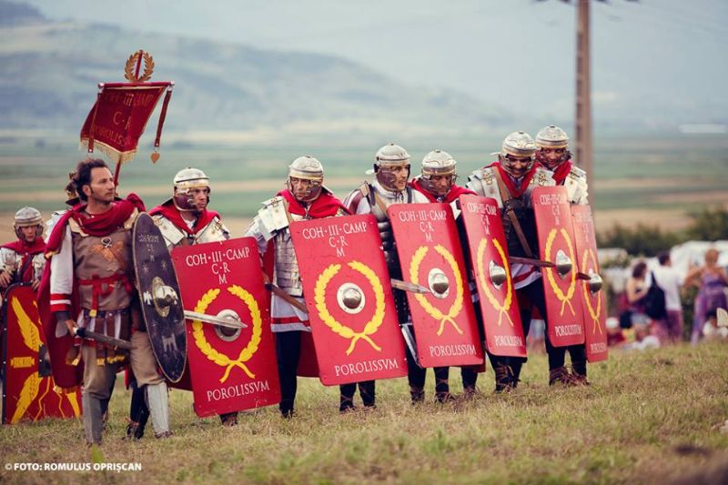 alba iulia roman guard