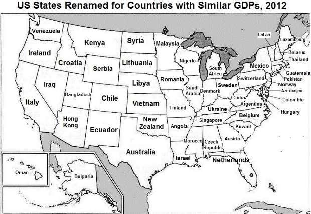 Romania's economy, similar in size to America's 30th largest state ...
