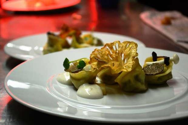 parmesan foam the artist