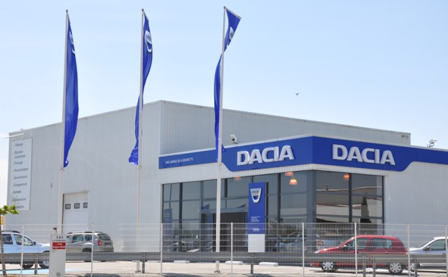 Dacia ist die gr sste firma im s d balkan romanian car for Garage dacia aubagne