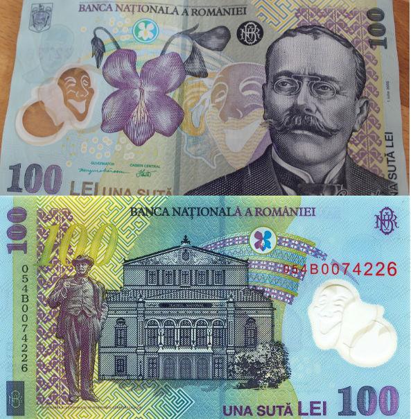 RON 100 bill