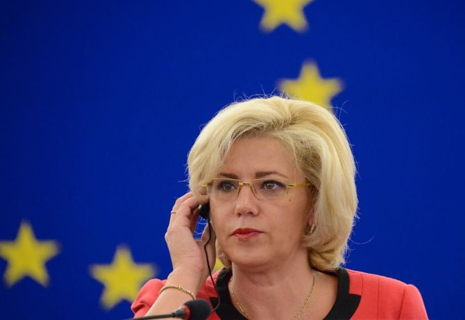 European Commissioner says she won't take any more insults from Romanian Govt.