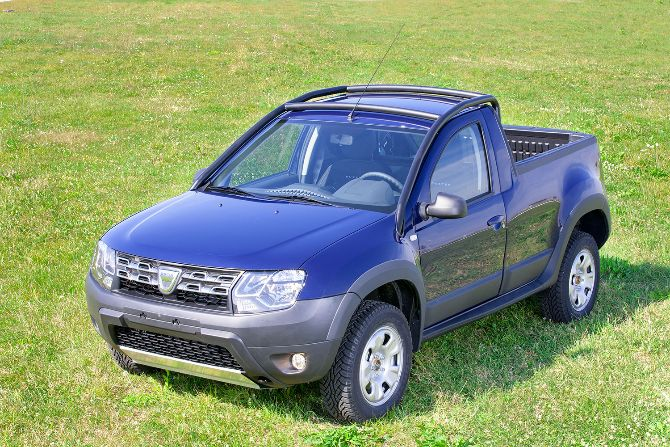 Romania\'s Dacia launches limited Pick-Up version of its Duster model ...