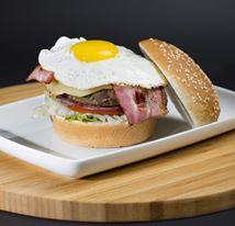 Burger Bar - sunny side up