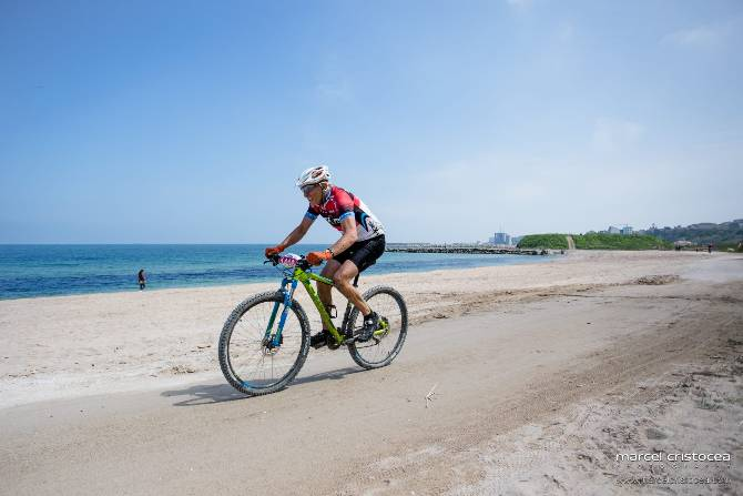 International Bike Race On Romanian Wild Beach This April