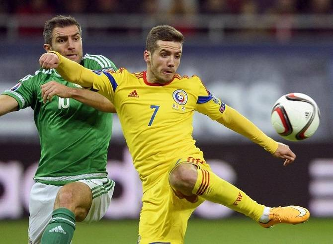Romanian Soccer Team Romania's public tel...
