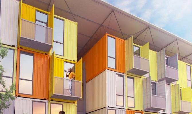 Containerhouses container houses. free shipping container homes for sale with