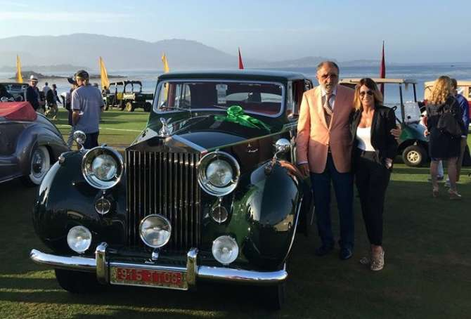 Romanian billionaire s rolls royce gets two awards at the for Pebble beach collection