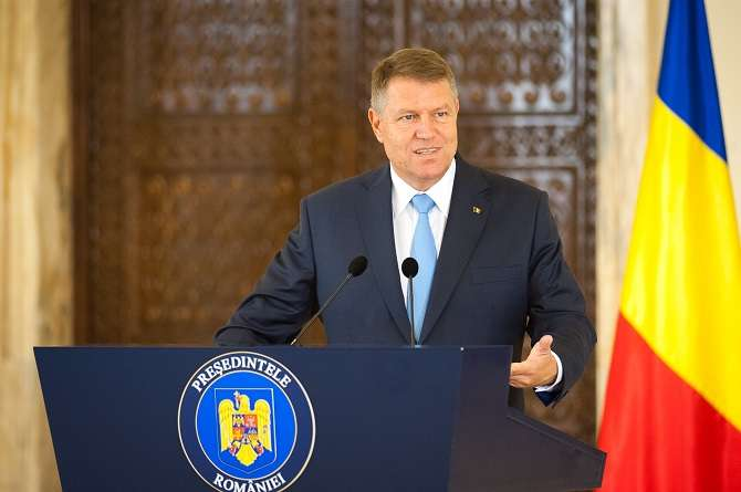 Image result for Romania's president