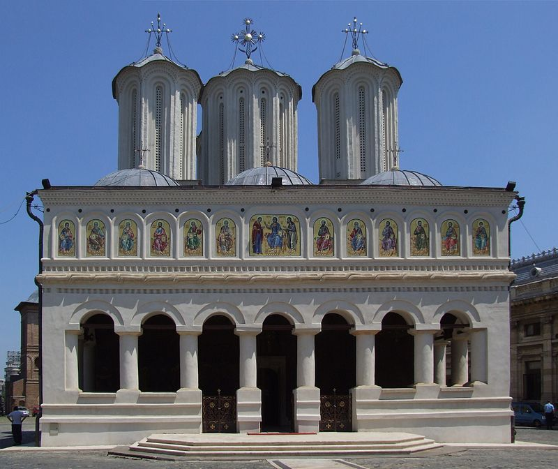 Romania's Patriarchal Cathedral in Bucharest's Dealul Mitropoliei